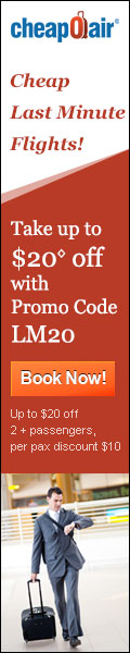 Last Minute Flight Deals - PROMO CODE - LM15