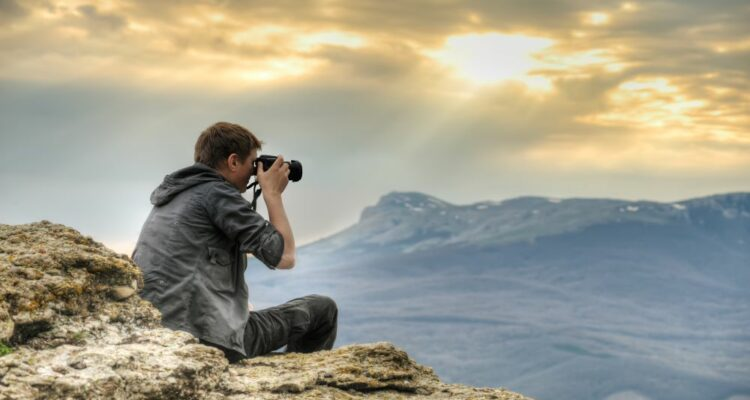Man Following Dos and Don'ts of Travel Photography