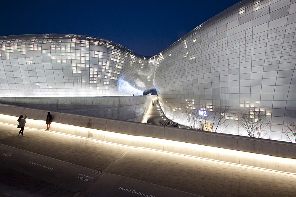 Dongdaemun Design Plaza & Park by Nestor Lacle is Licensed Under CC by 2.0