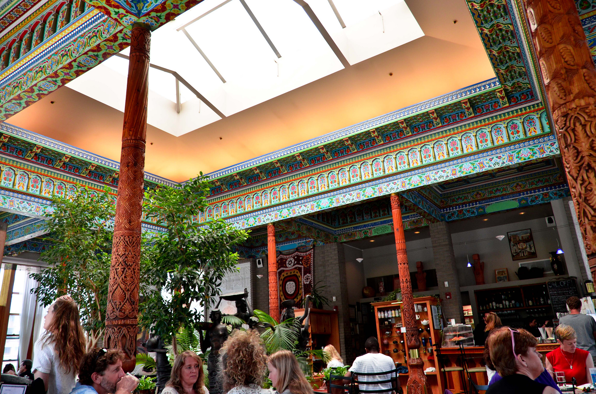 """Boulder Dushanbe Teahouse"" by iris is licensed under CC 2.0."