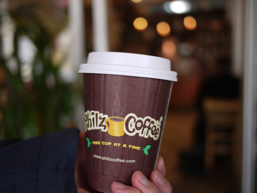 Philz Coffee by kennejima is Licensed under CC by 2.0
