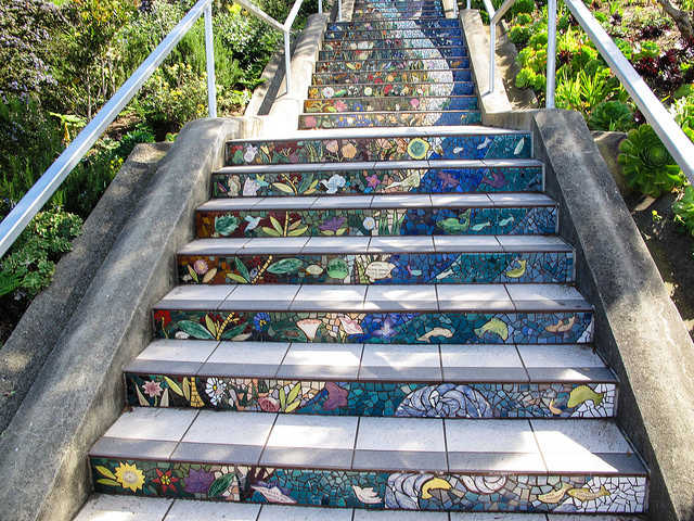 """""""16th Avenue Tiled Stair Project"""" by Ed Bierman is licensed under CC BY 2.0"""