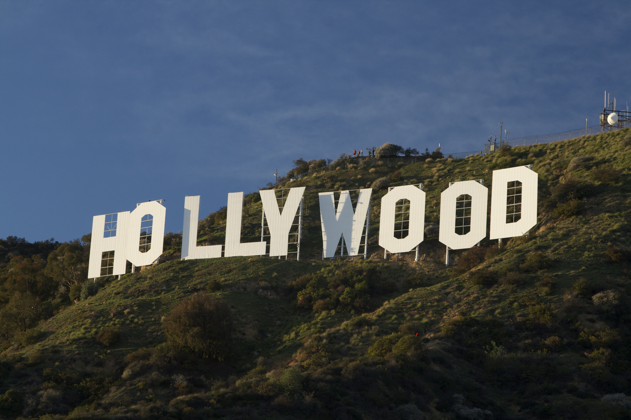"""Hollywood Sign"" by Gnaphron is licensed under CC 2.0."