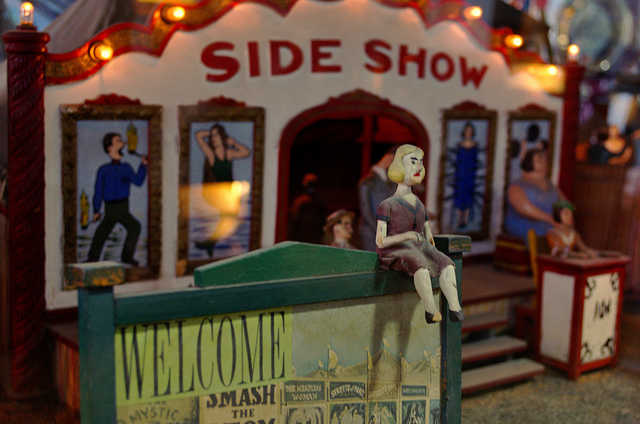 """""""Musee Mecanique 04"""" by Tom Hilton is licensed under CC BY 2.0"""