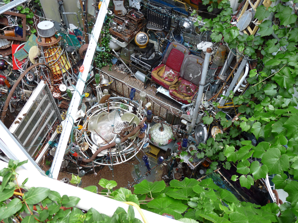 """Cathedral of Junk"" by reader of the pack is licensed under CC 2.0."