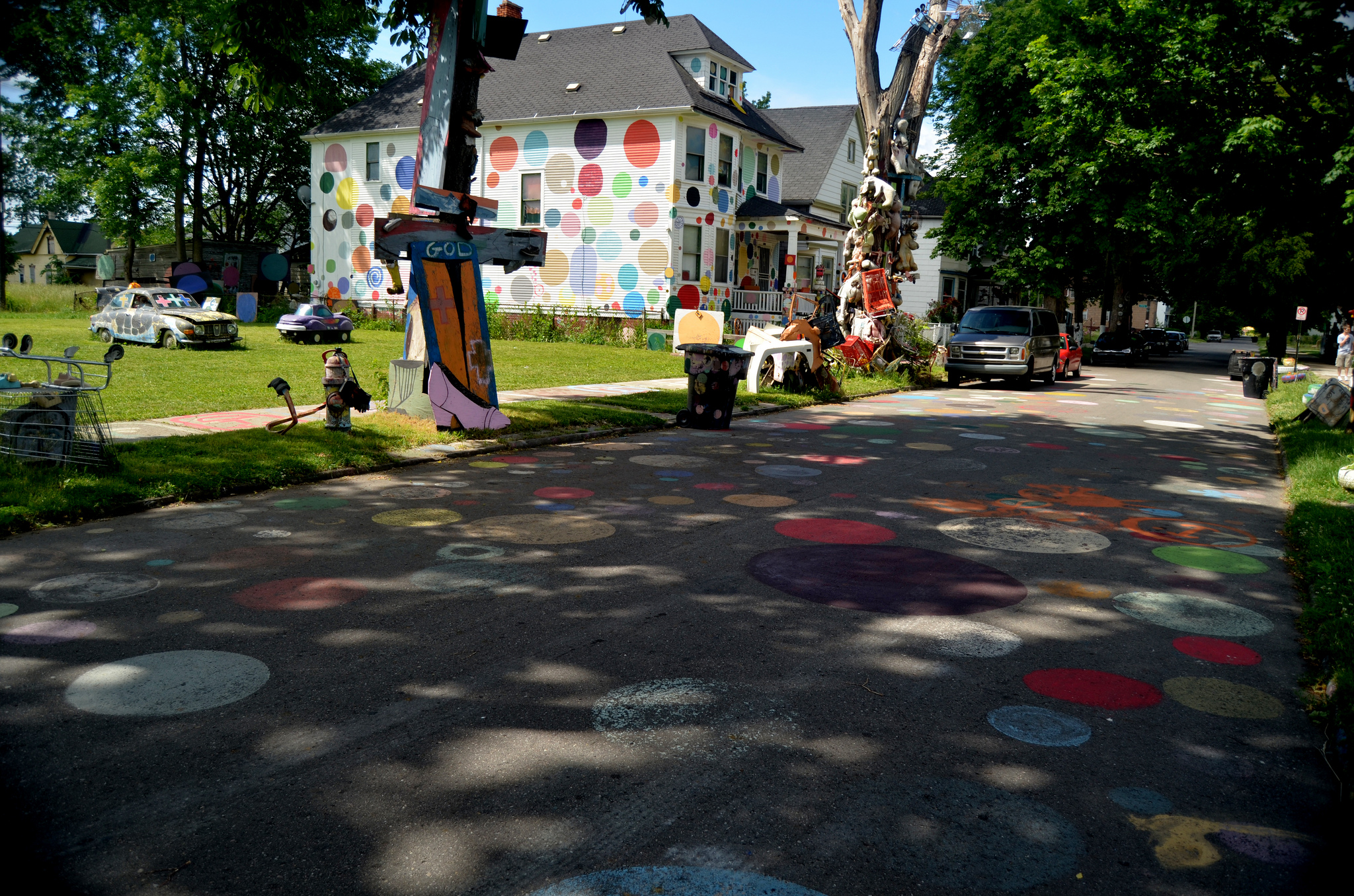 """""""Heidelberg Project"""" by Nic Redhead is licensed under CC 2.0."""