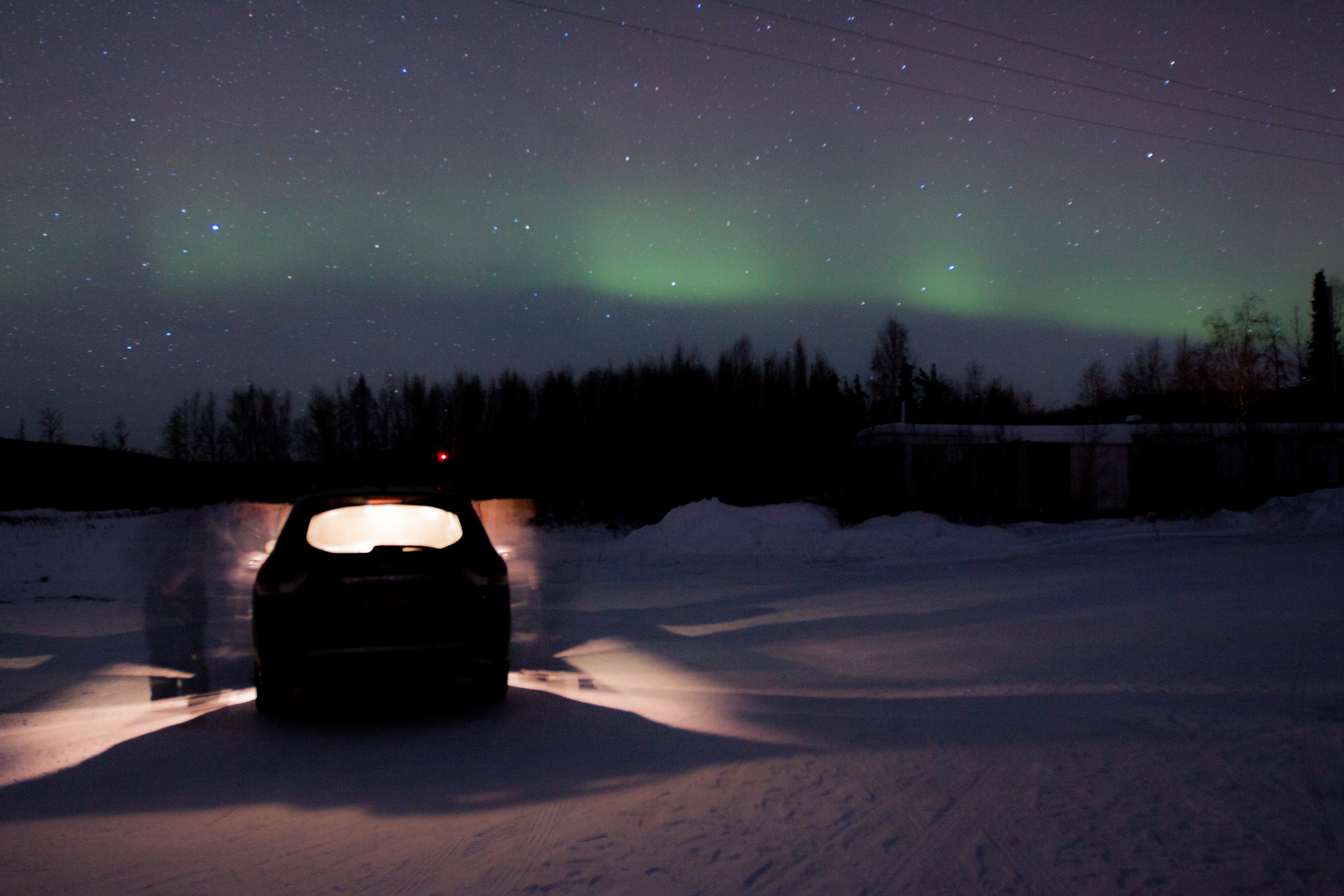 Lights with Car