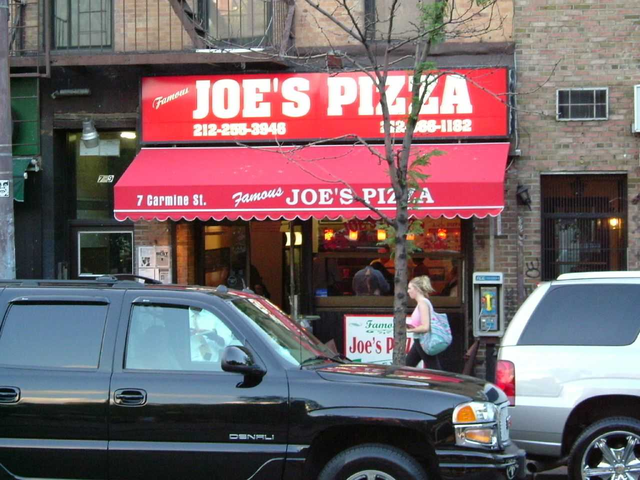 """""""Joe's Pizza (Spiderman)"""" by Rob Young is licensed under CC BY 2.0"""