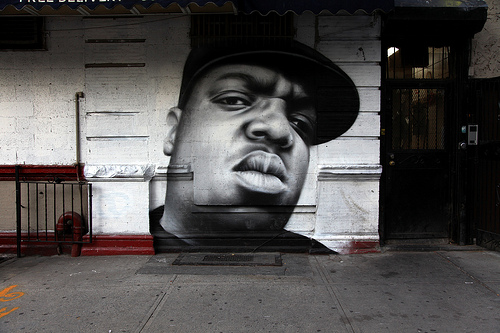 BIGGIE - BKLYN Mural