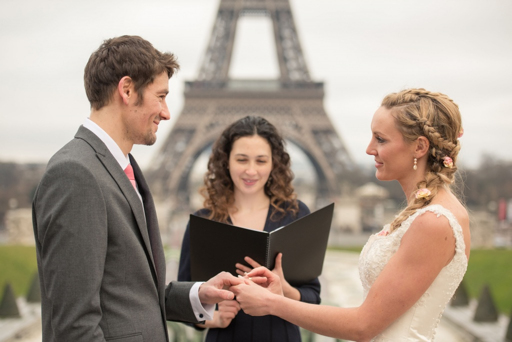 Getting married in Paris - Pic from Fortitude Press