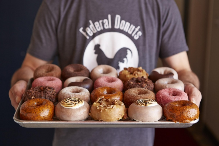 Doughnuts from Federal Donuts