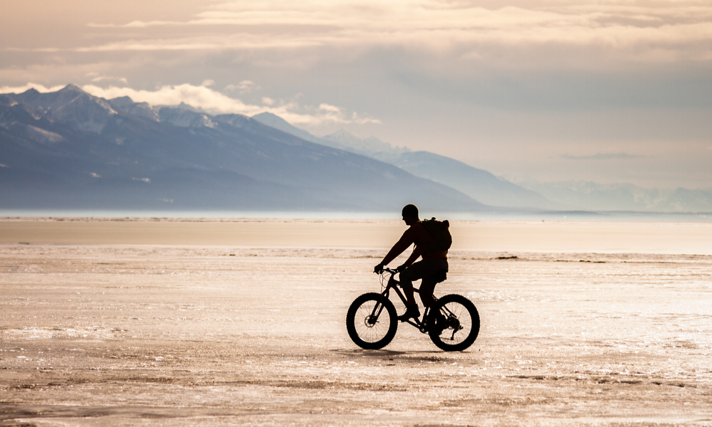 Fat Tire Bike Flathead Lake Montana