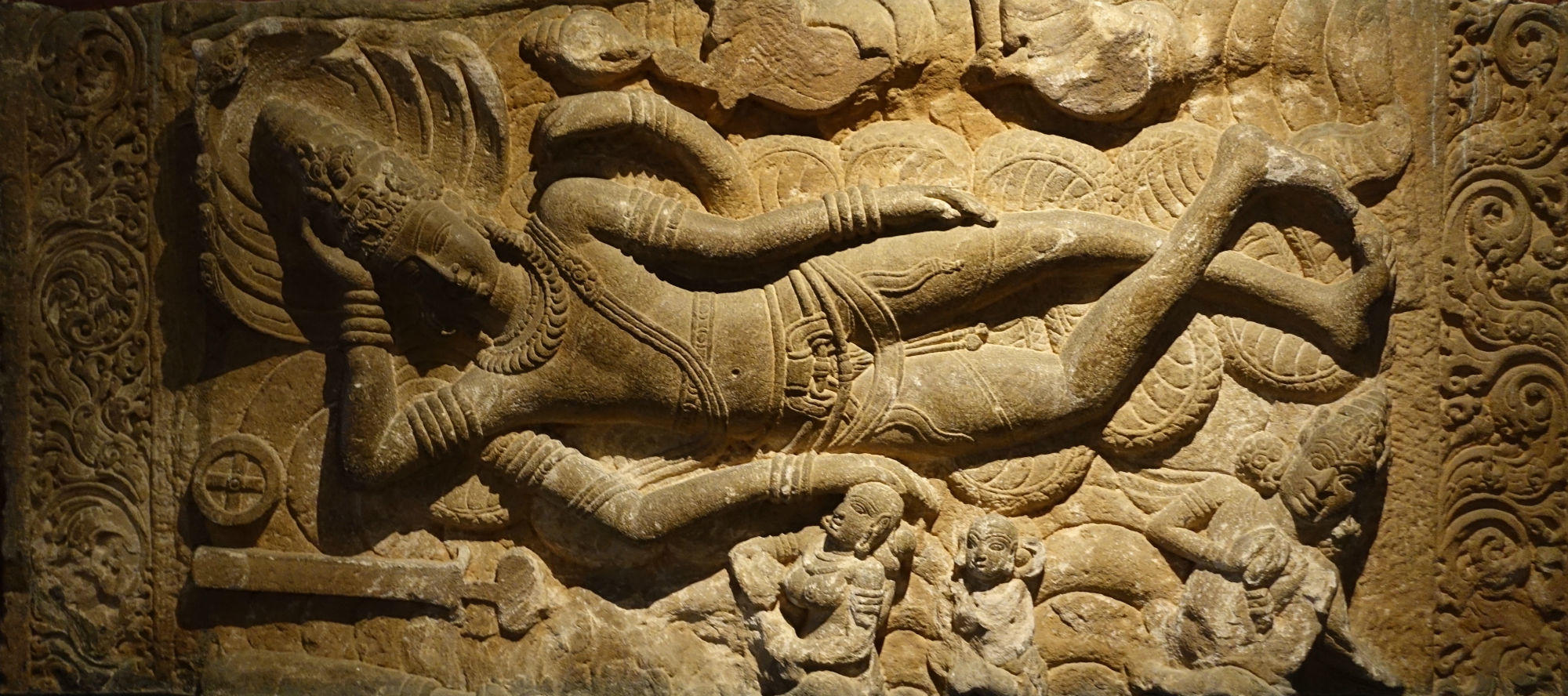 Vishnu Carving in Prince of Wales Museum