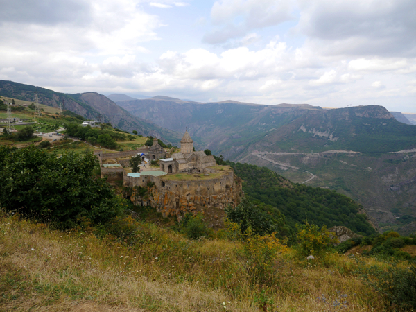 Tatev Monastery built in 9th century, later became home to Tatev University.