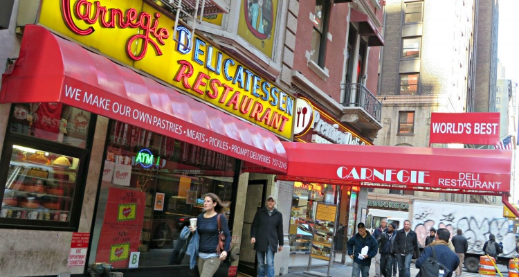 carnegie deli alternatives 5 other iconic nyc delis miles away
