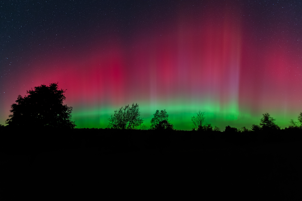 Darkest Places To Stargaze In The Us Miles Away Travel Blog - Darkest-places-in-the-us-map