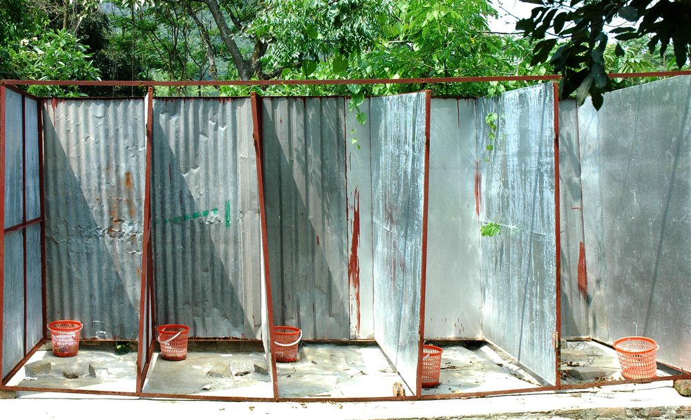 the typical public toilet in China