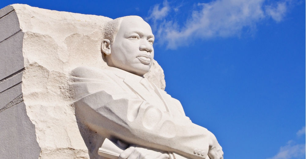 the-mlk-monument in DC