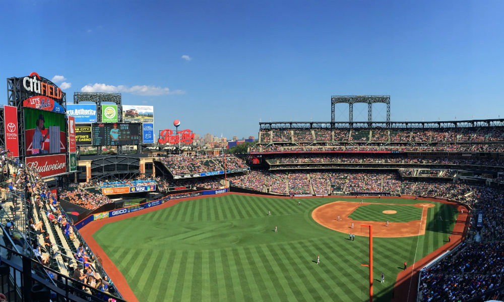 Citifield, home of the New York mets