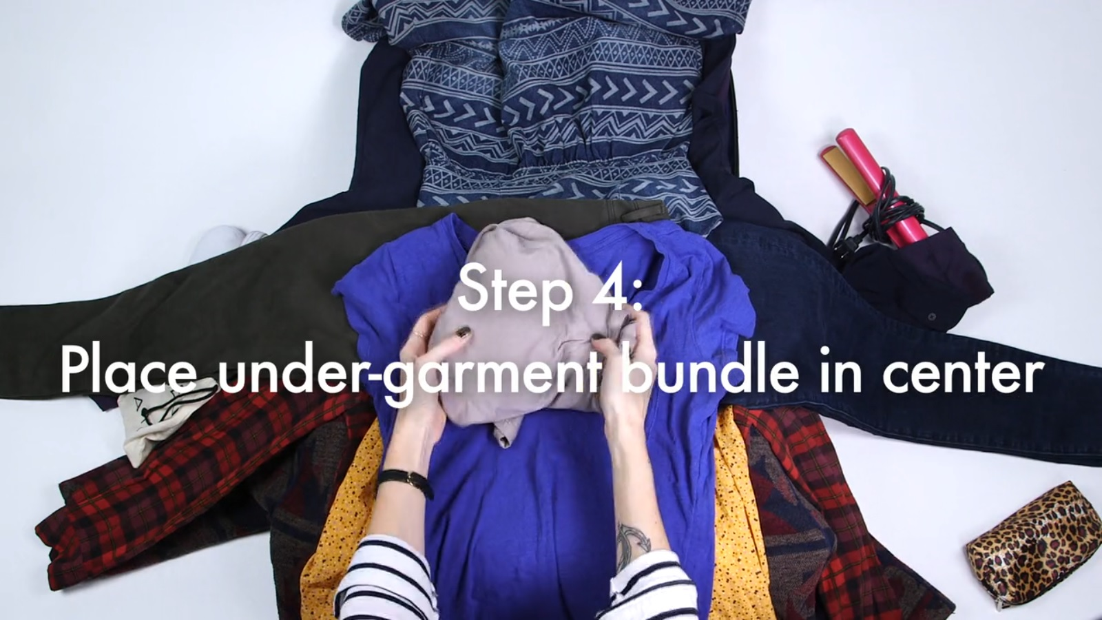 How to Bundle Pack