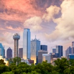 Dallas City skyline </div><div class=