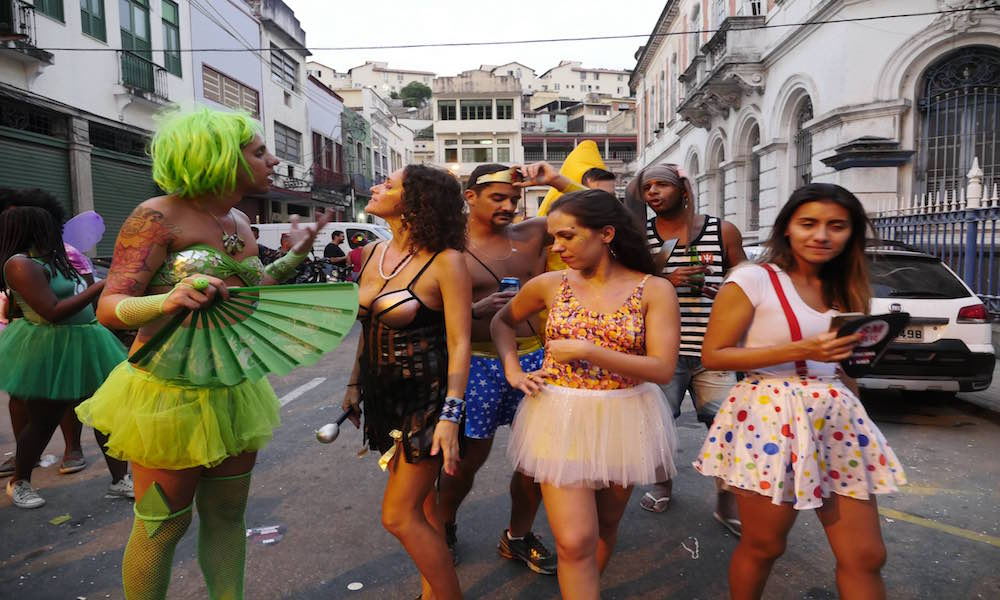 Part of the carnival fun is to dress up in costumes and express yourself in front of thousands of people without being judged. Though not required (youu0027ll ...  sc 1 st  CheapOair & How to Do Rio Carnival 2018 on a Budget | Miles Away Travel Blog