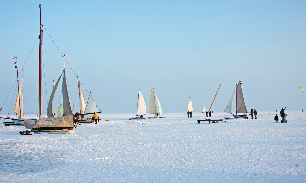 Ice Sailing in Sweden