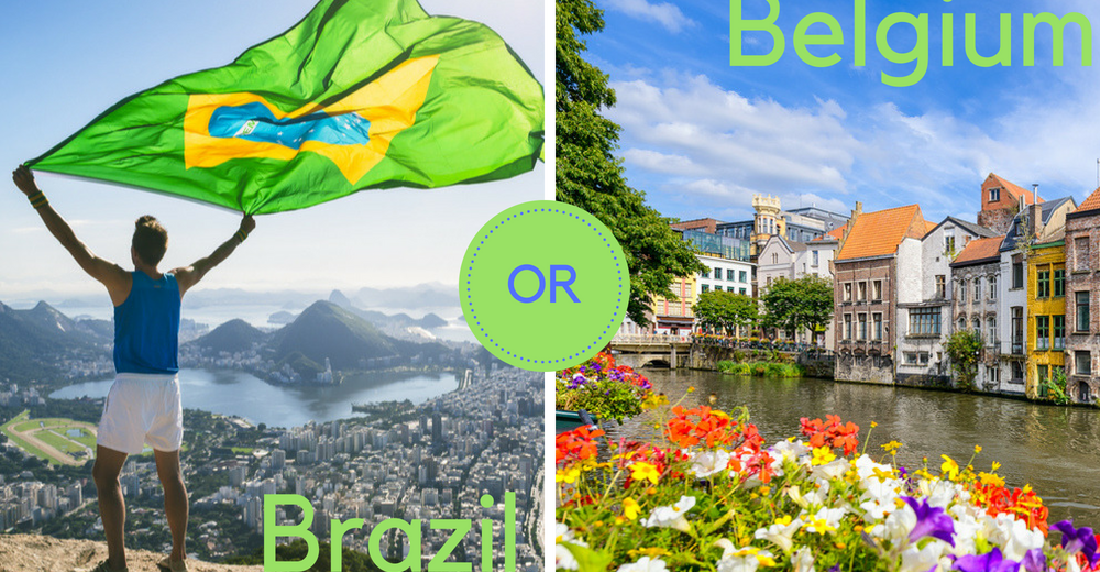 images of belgium and brazil