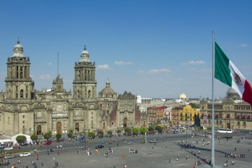 city center, mexico city