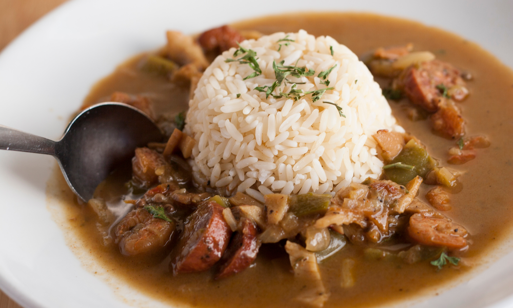 Seafood Gumbo with Rice