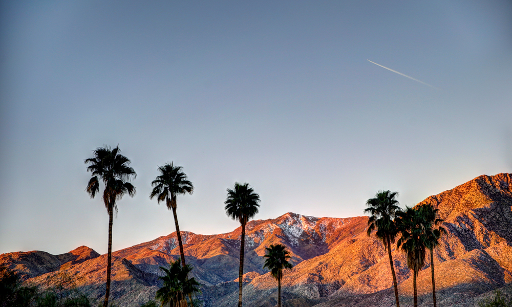 palm springs, california landscape