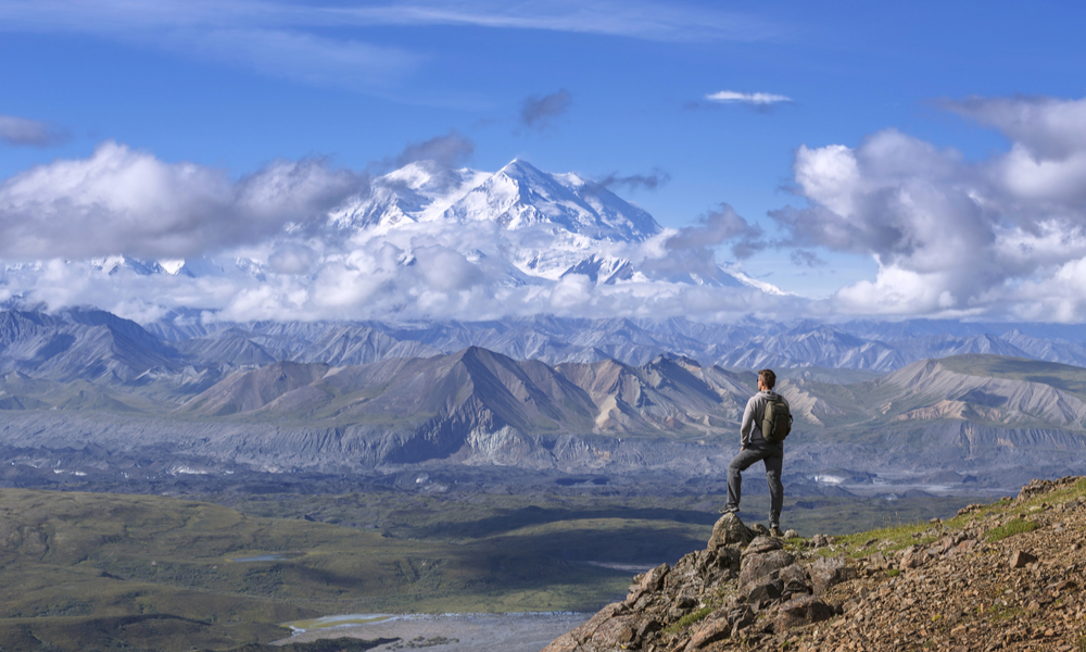 Denali (Mount McKinley) national park, Alaska, United States