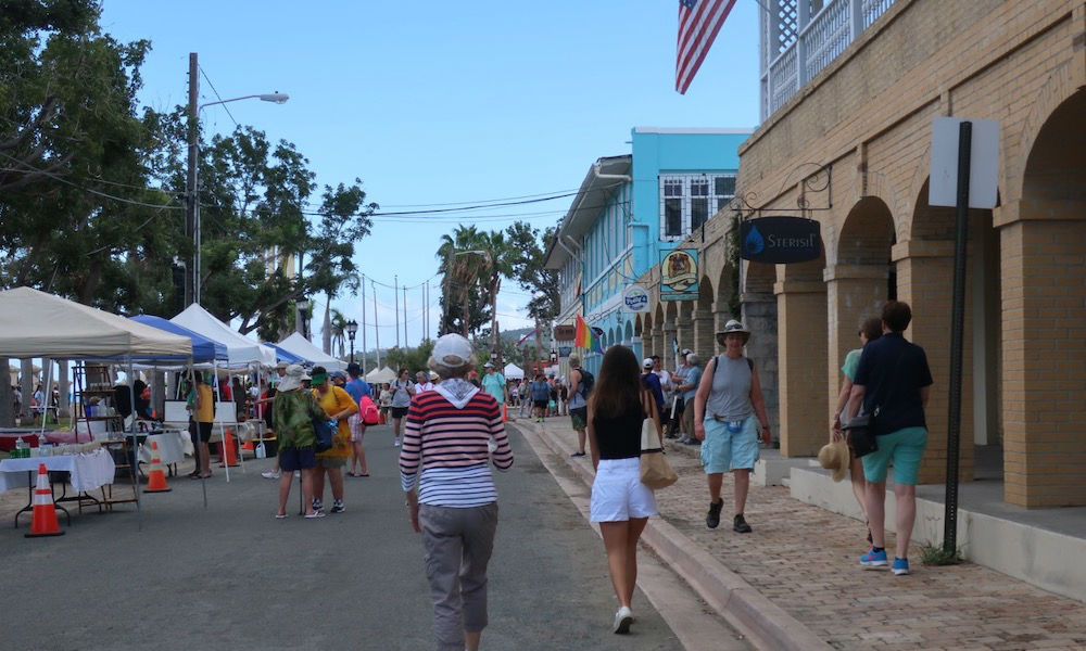 Frederiksted on St. Croix Island