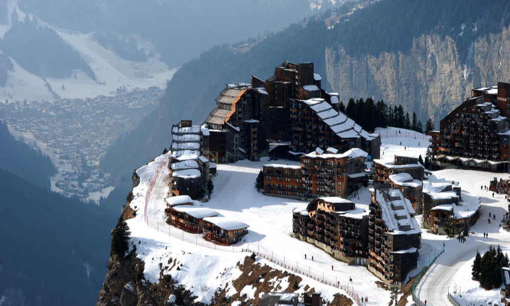 The Best Ski Towns That Also Have Beautiful Landscapes: Avoriaz resort