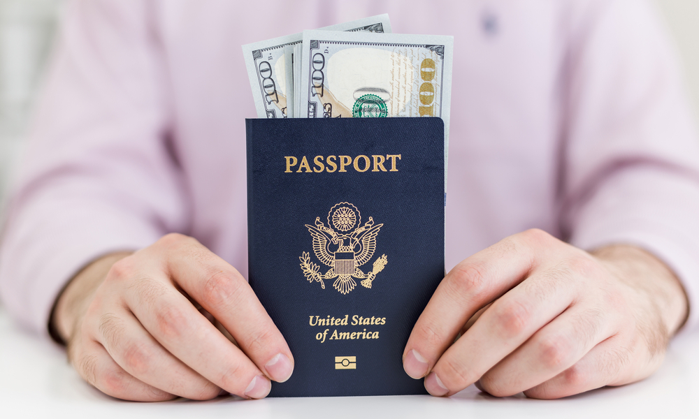 Passport name change - fees