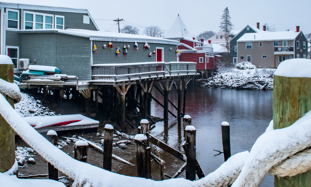 Kennebunkport, Maine best winter vacation in the US