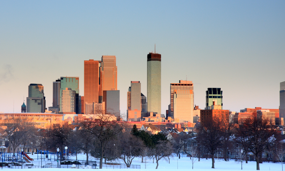 Minneapolis best winter vacation in the US