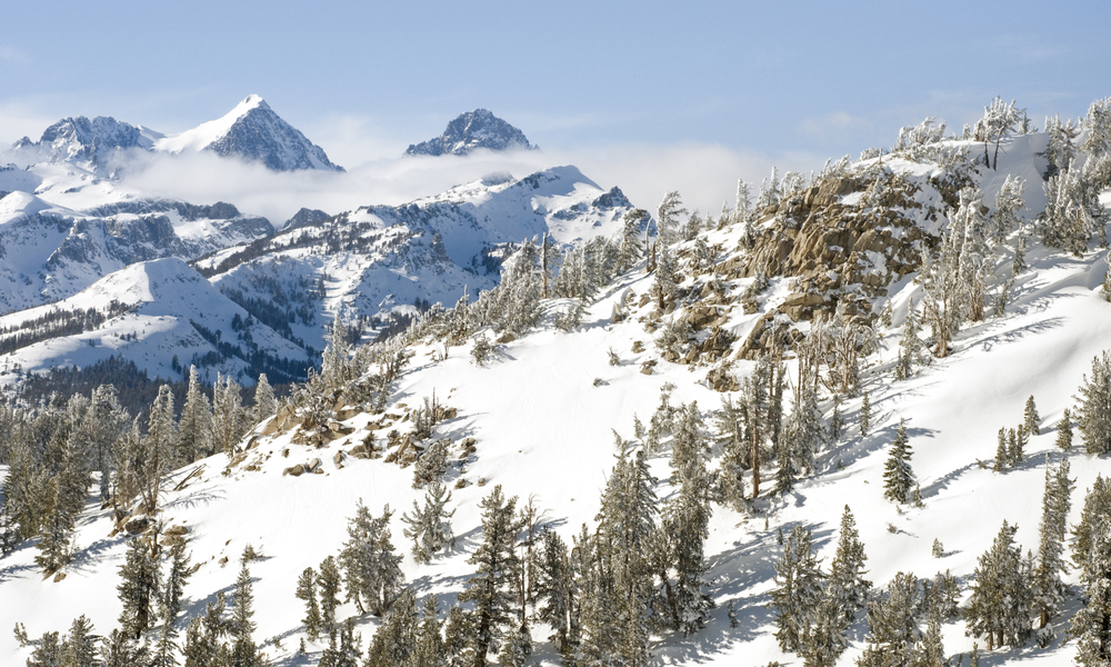 Mammoth Lakes best winter vacation in the US