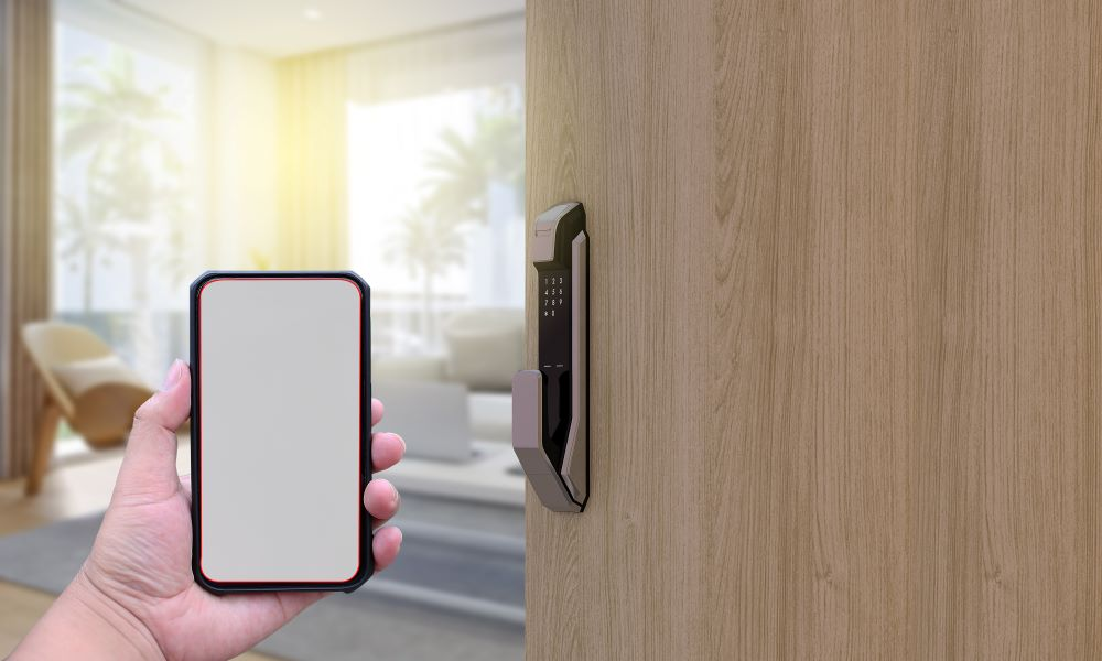 Contactless check-in phone app as a room key