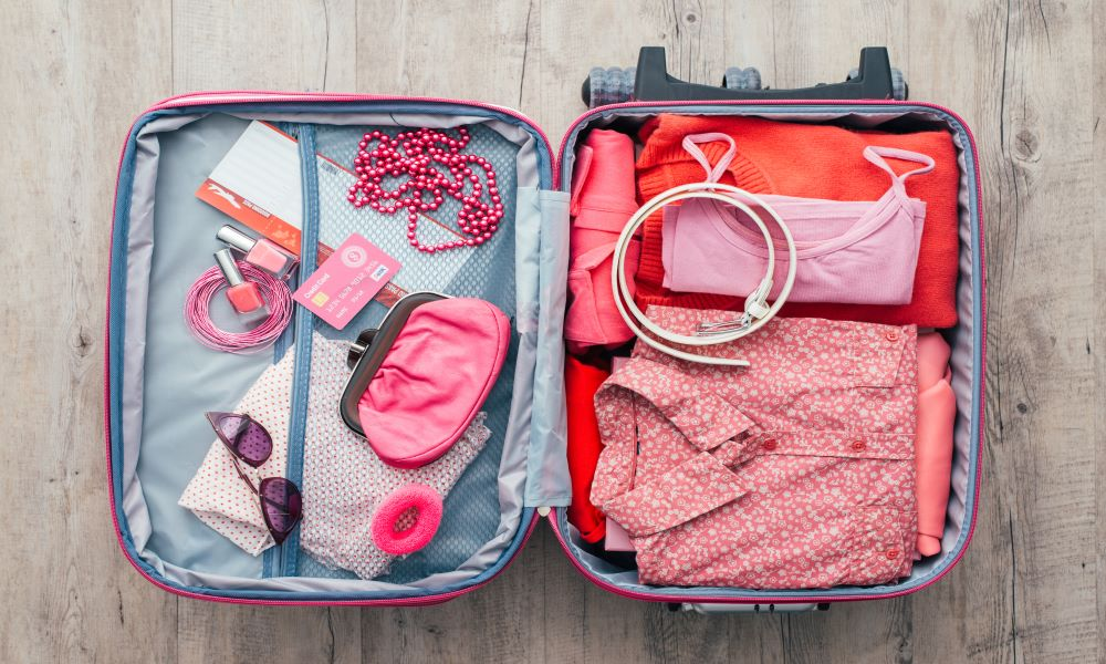 packing multifunctional clothing for vacation