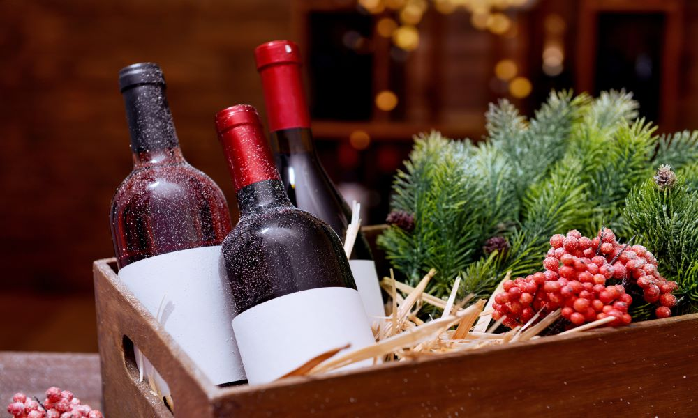 packing wine for the holidays