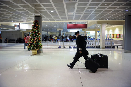 Holiday travel at Philadelphia Airport