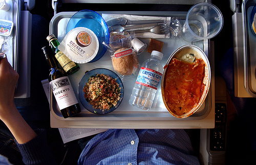 Top five airline foods