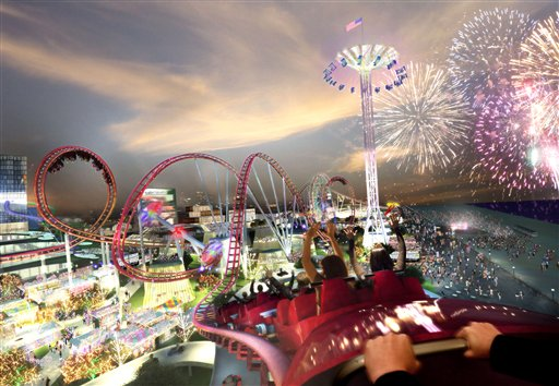 New Coney Island to debut in summer 2010