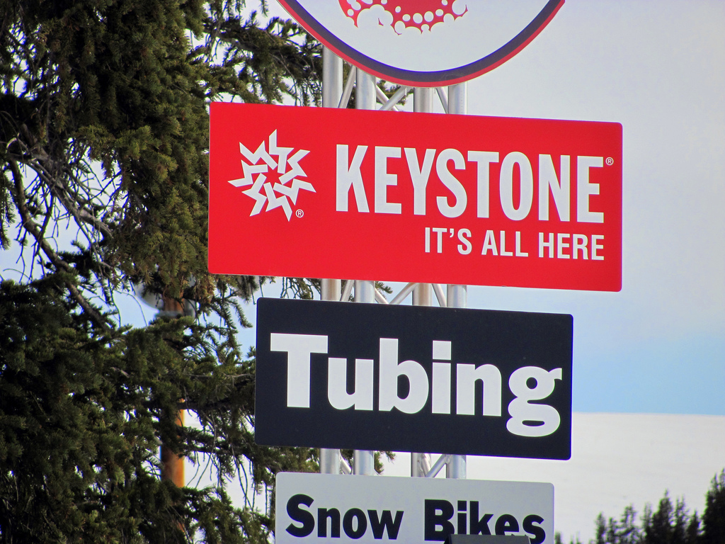 Keystone, Colorado offers many snow activities for the entire family