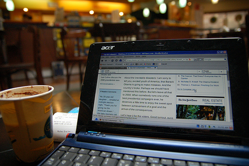 Airport wi-fi is becoming more and more common at airports.