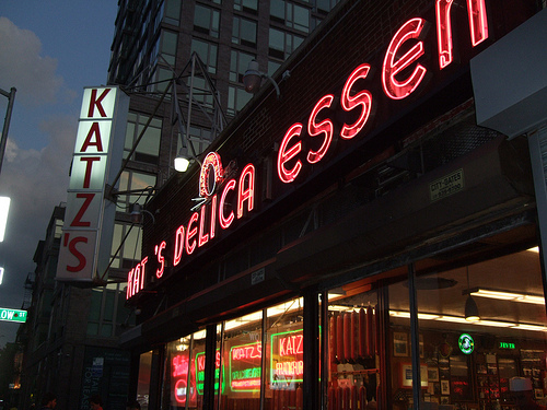 Katz Delicatessen in New York City