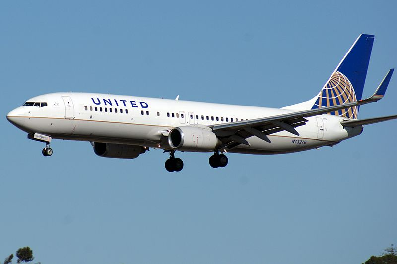 Special expenses included painting 200 planes with the United name and Continental logo (Image: Wikimedia)