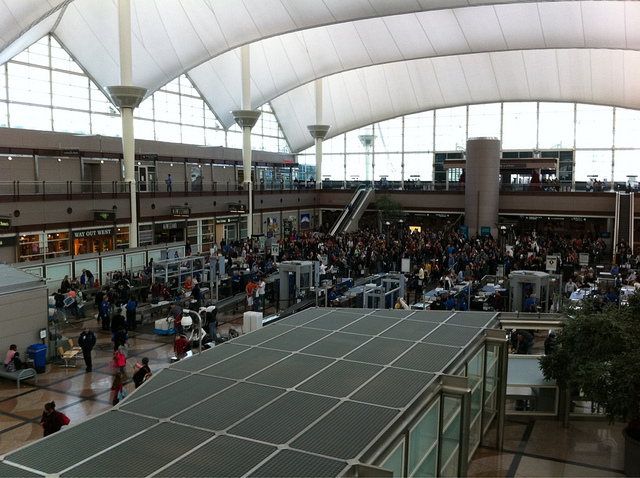 Looks like #TSA is overwhelmed today. (Flickr: corsairstw)