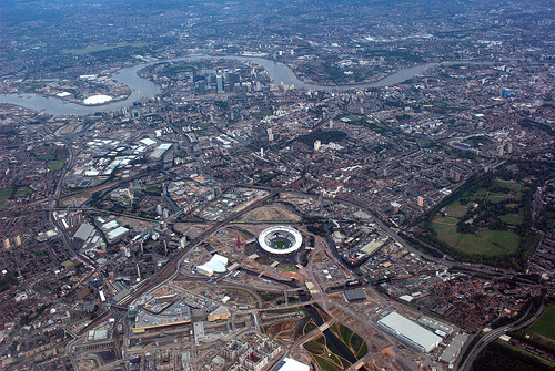 London 2012 Olympics: Olympic Stadium Constructions Completed Ahead of Schedule, Flickr: Alexander Kachkaev
